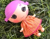 Lalaloopsy Littles Collection - Peasant Dress and Bloomer Set in Tropical Punch