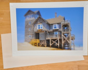 "Photo Greeting Card - ""Nights in Rodanthe"" House"