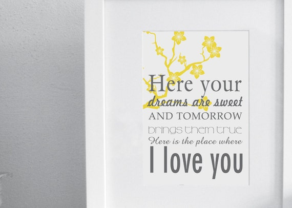 Rue's lullaby - The Hunger Games - I love you - digital file for poster, print, t-shirt, etc