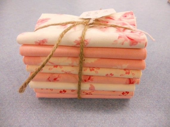 Northcote Range pink fat quarter bundle by Cabbages & Roses for moda fabrics