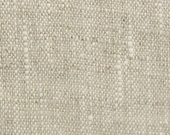 "28"" x 56""  - One Piece - Laundered Oatmeal Linen Fabric  - Natural Fabric/ Soft - Natural Linen with Flecks of Oyster Linen"