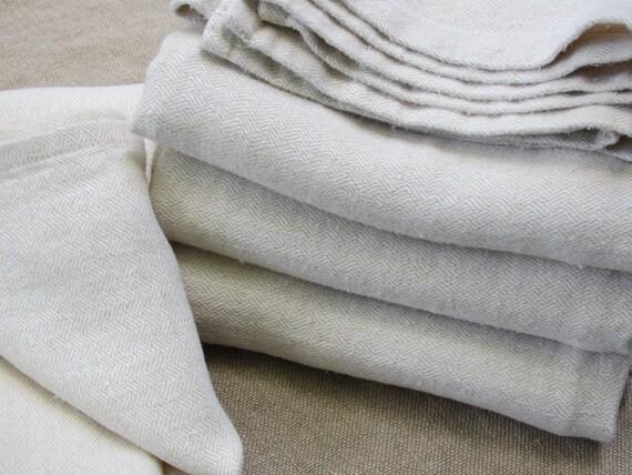 Romanian Hemp Bath Towel  - Beautiful Laundered Hemp Sava Fabric