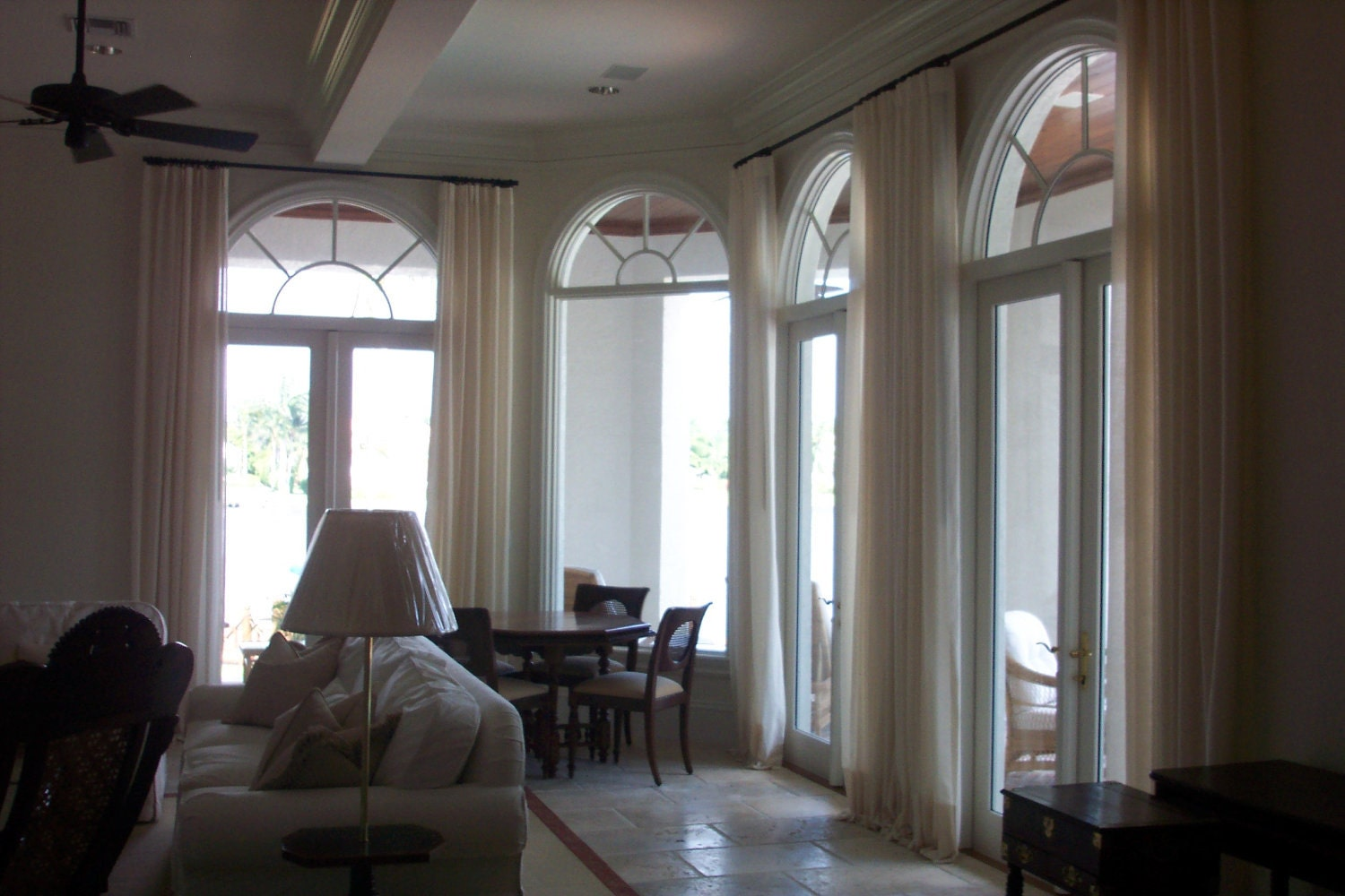 Request a custom order and have something made just for you High ceiling window treatments