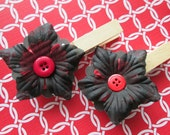 Scalloped Flower Beauty Magnetic Note Clip