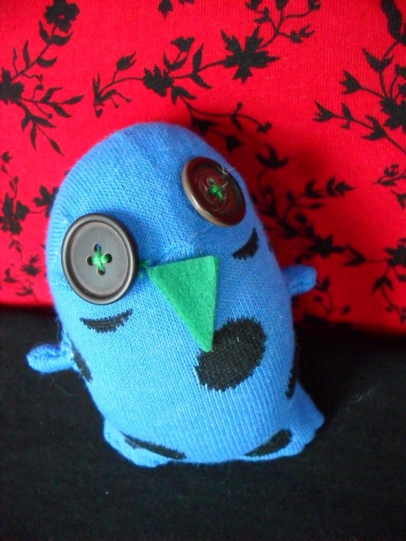 Meet Guido - Whimsical Blue Tap Dancing Owl