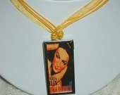 Reversible Movie Poster Necklace - A Woman Commands & Dona Diabla