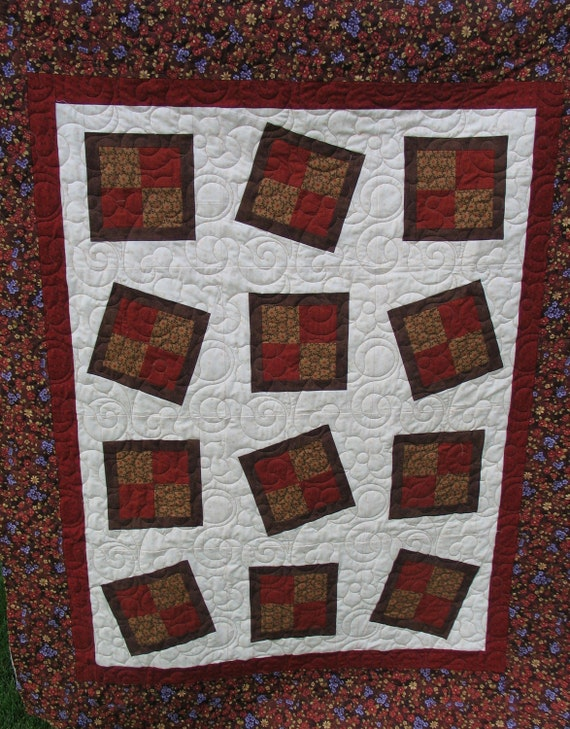 Zany 4-Patch with a Twist Quilt Pattern