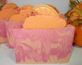 CLEARANCE SALE    Cranberry Orange Shea Butter Body Bar Soap