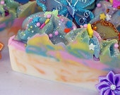 Mel's Masterpiece - Goat Milk Soap Cake Slice