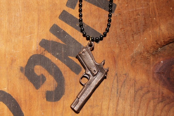 Mens Jewlery: Killer Love Gun