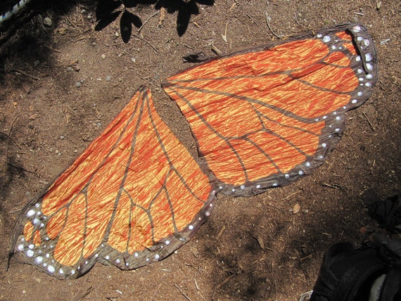 Indian Flag Butterflies: Monarch Butterfly Flag Poi By Firebrush On Etsy