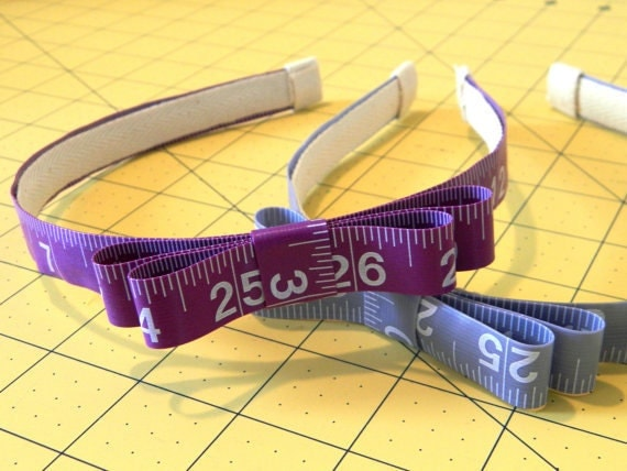 Measuring Tape Headband - Custom Made to Order