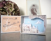 Matchbox as wedding favor o wedding gift - customizable
