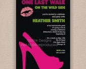 Bachelorette Party, Bridal Shower, Ladies Night Out Invitation - Printable 5x7