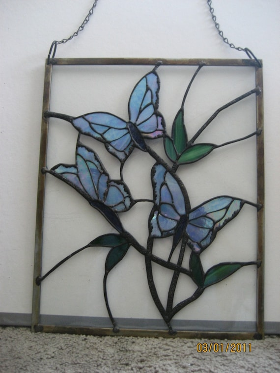 Butterfly designs for glass painting - photo#50