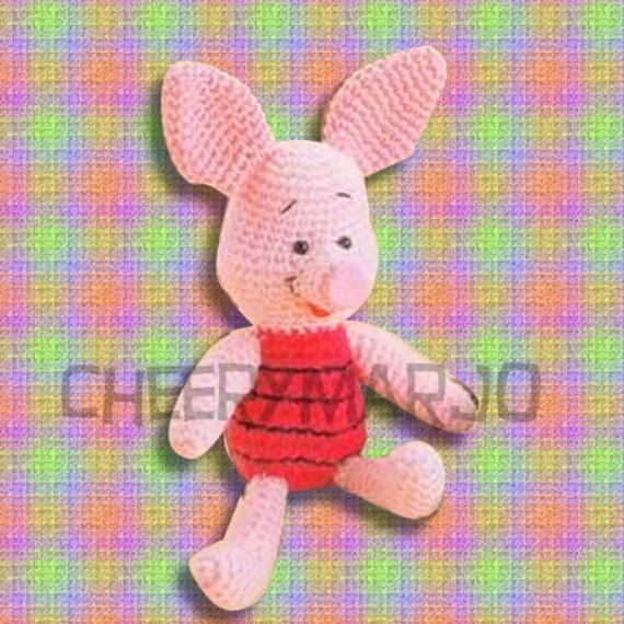 Amigurumi Piglet Patterns : Etsy - Your place to buy and sell all things handmade ...