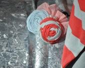M2M Matilda Jane Serendipity shorties Peppermint & Soda Pop Hair clip OR PIN for adult dress