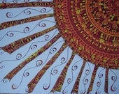 Sun Doodle - Original Art