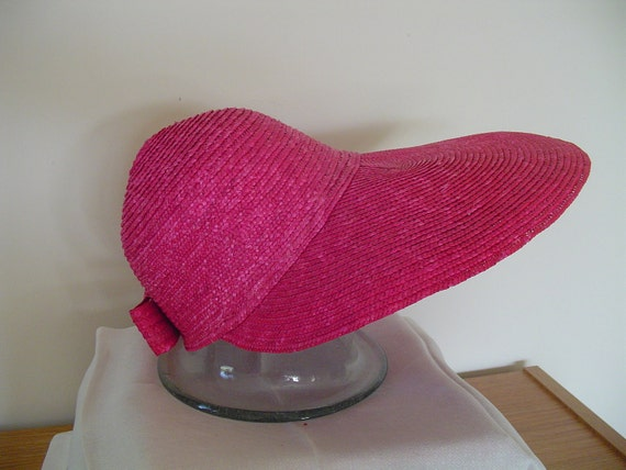 Ladies Straw-like Material Garden Hat - Beautiful color