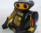 Vintage electronic robot toy