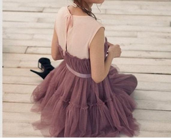 Huge SALE only today % Violet Sleeveless Split  Party Dress S/M