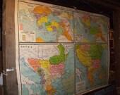 European History Vintage Wall Map