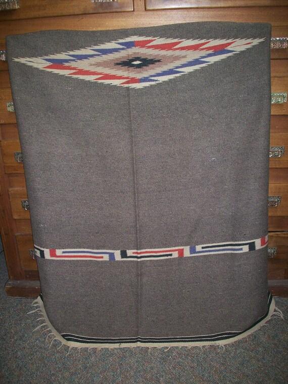Large Mexican Saltillo Rug/Blanket