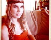 The Mendocino: Geometric. All Natural. Feather Headband.