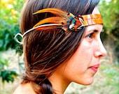 Port Matilda Feather Headband