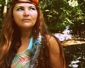 Acoustic love song hippie headband