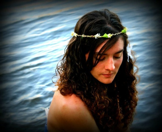 Wild Child Floral Headband RESERVED FOR Kelly