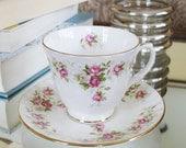 Duchess June Bouquet Teacup & Saucer
