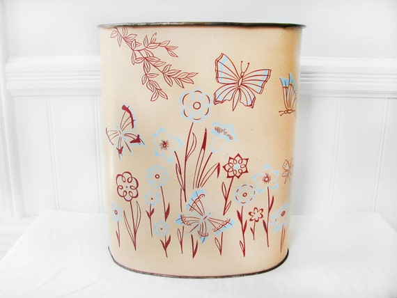1960s Trash Can - By Weibro Company