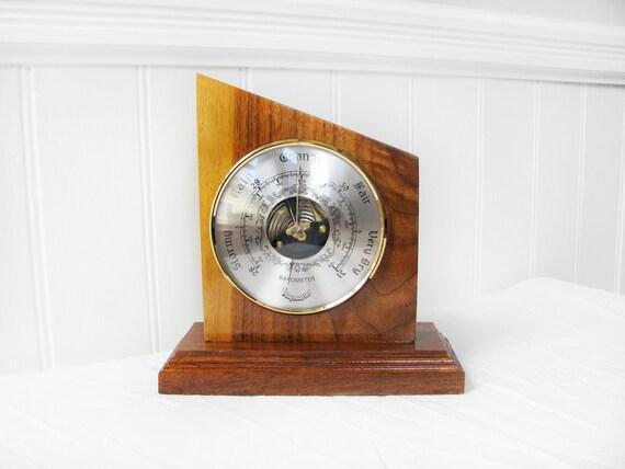 1950s Mod Desk Barometer