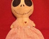 primitive skeleton doll