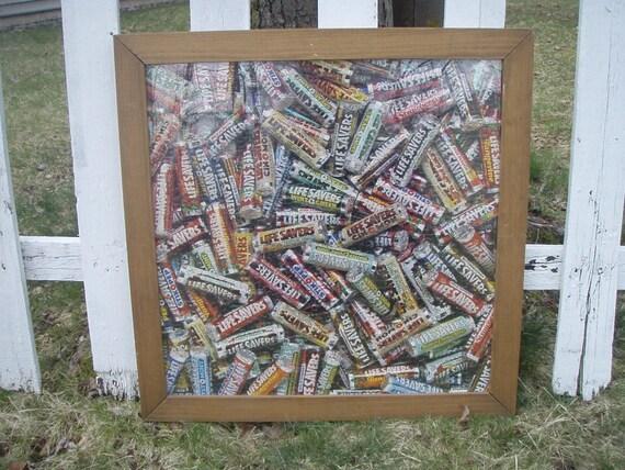 Vintage Lifesavers Puzzle Wall Hanging By Vintageboxedblonde