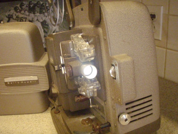 Vintage Bell & Howell Movie Projector 1950s Model 255 A