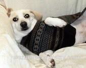 Merino wool dachshund jumper small dog sweater warm felted soft coat