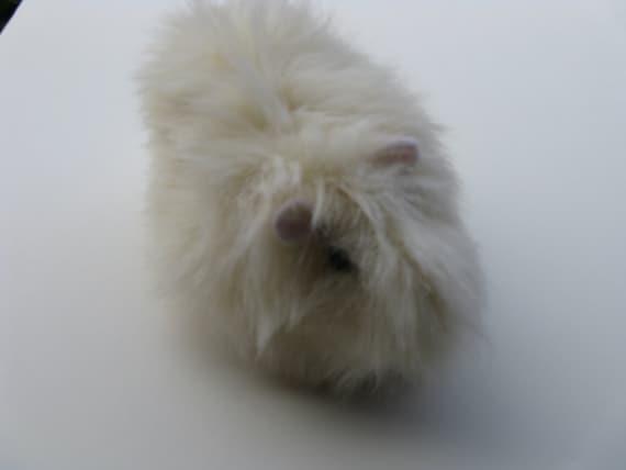 Guinea Pig Plush White