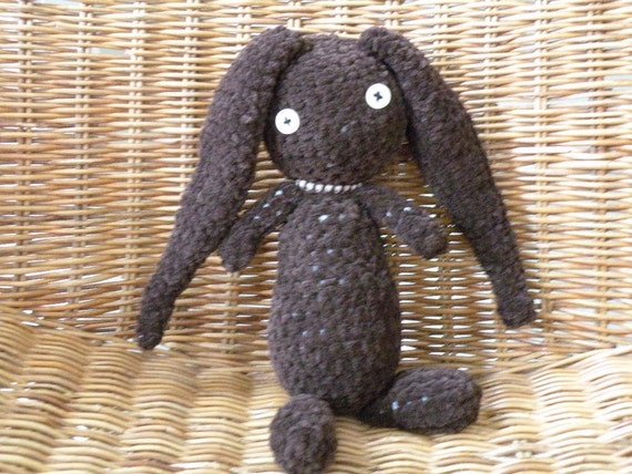 Christmas Velveteen Rabbit Doll