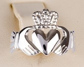 Claddagh Ring Sterling Silver exchange