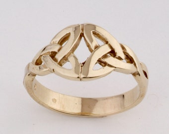 Celtic Ring in 9ct Gold