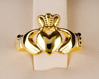 Claddagh Ring in 14ct gold