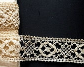 Bobbin lace insert, all my lace is handmade.