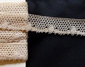 Beautiful bobbin lace edging, 8 yards  23 inch long,all my lace is handmade.RESERVE FOR MARIA