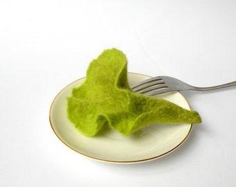 felted brooch Salad