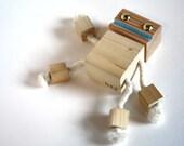 Block Bot - Wooden Toy Robot