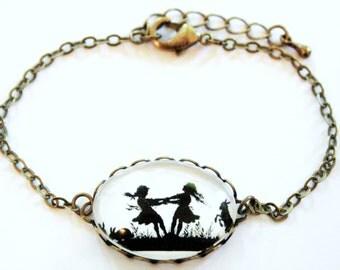 Popular items for schwester geschenk on etsy for Armband fa r beste freundin