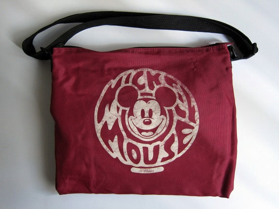 RUMMAGE SALE - Vintage Mickey Mouse bag