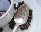 Hand Stamped Coffee Spoon